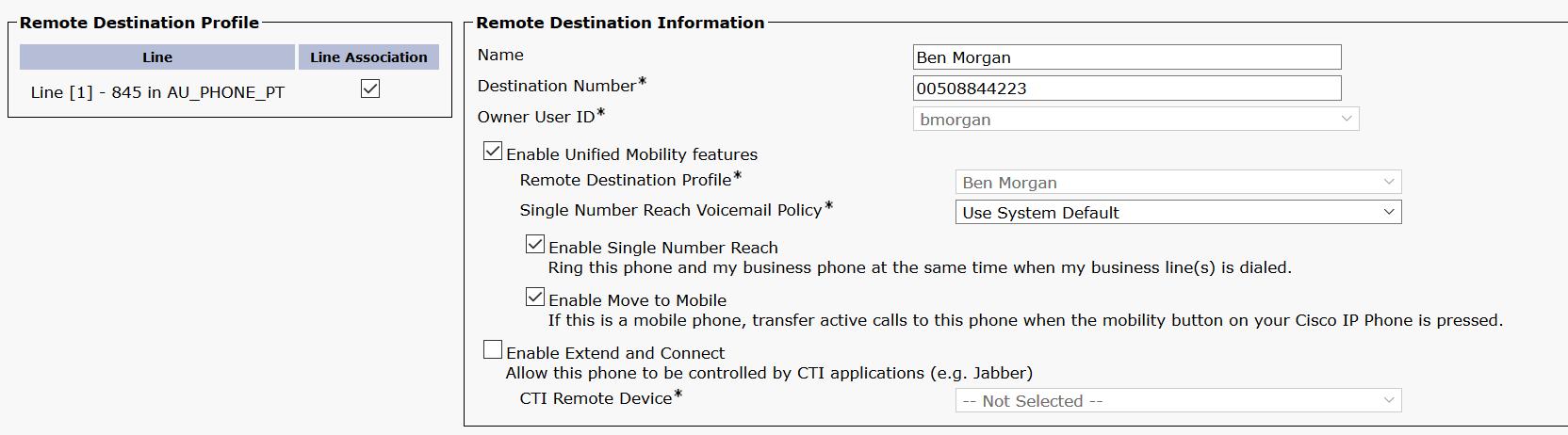 Cisco Mobile Voice Access