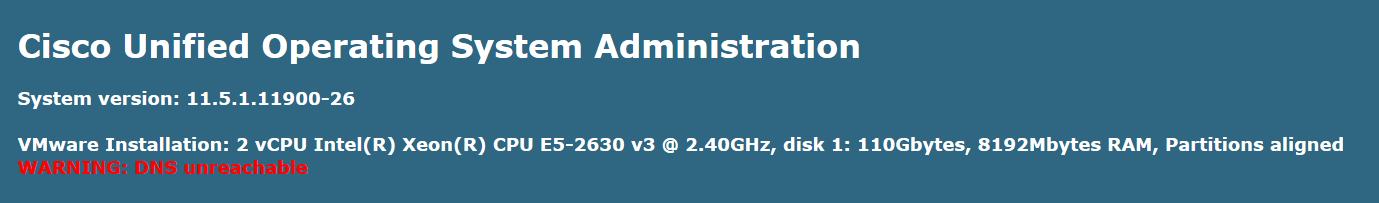 DNS | Cisco UC